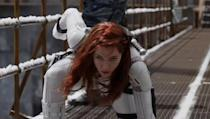 """<p>At the two-dozen movie mark, Natasha Romanoff finally gets her time in the spotlight. And while this is the newest MCU film and the opening movie for Marvel's """"Phase 4,"""" the events of the film actually take place after <em>Captain America: Civil War</em>. Confused yet? <em>Black Widow </em>was supposed to hit theaters on May 1, 2020, but has been <a href=""""https://variety.com/2020/film/box-office/black-widow-release-coronavirus-1203532996/"""" rel=""""nofollow noopener"""" target=""""_blank"""" data-ylk=""""slk:pulled because of movie theater closures"""" class=""""link rapid-noclick-resp"""">pulled because of movie theater closures</a>. It has been rescheduled for November 6. </p><p><a class=""""link rapid-noclick-resp"""" href=""""https://youtu.be/lTL3OZkVMHQ"""" rel=""""nofollow noopener"""" target=""""_blank"""" data-ylk=""""slk:WATCH TRAILER"""">WATCH TRAILER</a></p>"""