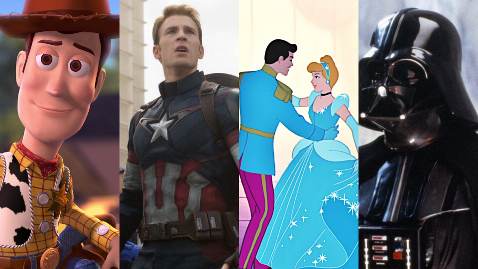 The streaming service Disney+ is one of the best around! You won't believe what it has to offer. (Photo: Pixar Animation Studios/Marvel Studios/Walt Disney Animation Studios/Lucasfilm/Yahoo Life)