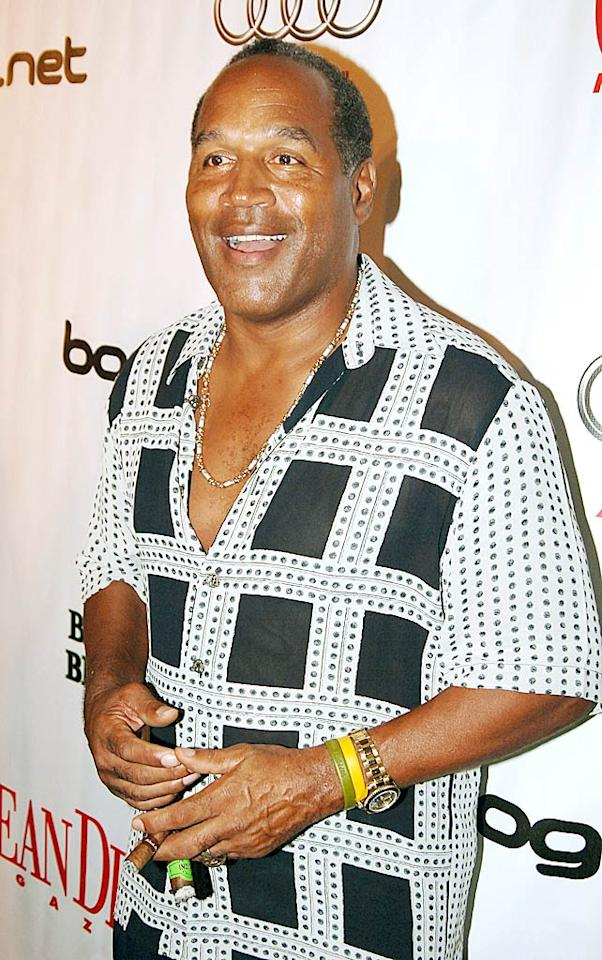 O.J. Simpson was once best known as a Pro Football Hall of Famer, but no more. He's now considered the third creepiest celeb, according to the poll, which is undoubtedly due to the murder of his former wife, Nicole Brown Simpson, even though he was acquitted of the crime in the ridiculously high-profile 1995 trial. (8/27/2005)