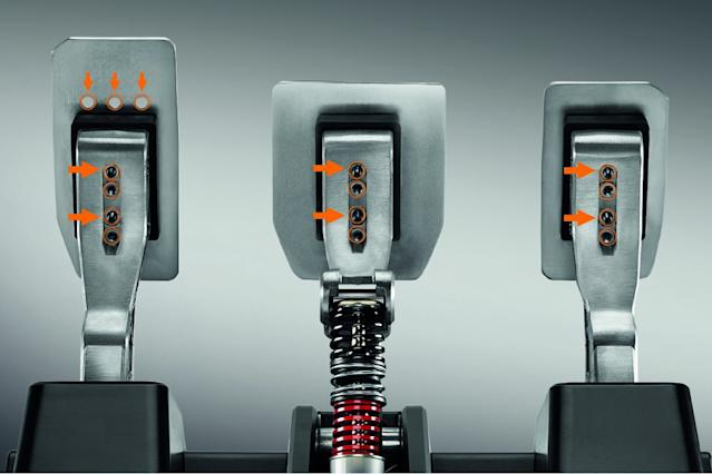 Thrustmaster pedals - a new level of braking precision?
