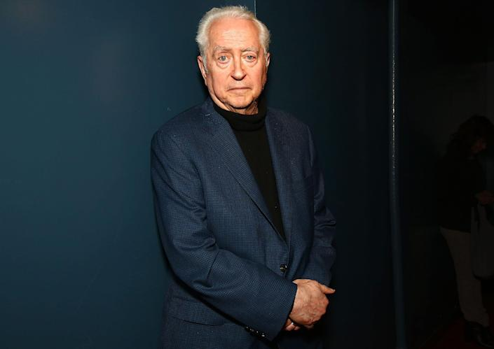 Robert Downey Sr. poses at 'An Evening With Robert Downey, Sr.' at Film Forum on May 20, 2016