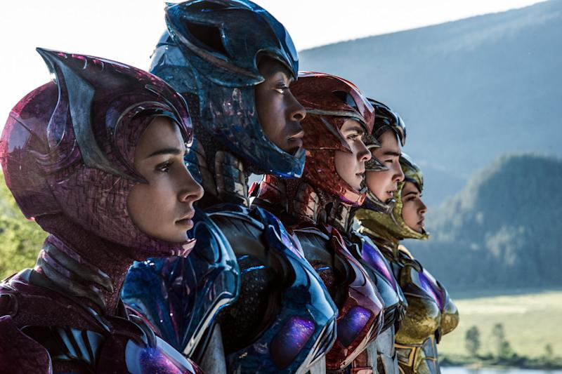 2016's Power Rangers suit up, for the first (and last?) time (credit: Lionsgate)