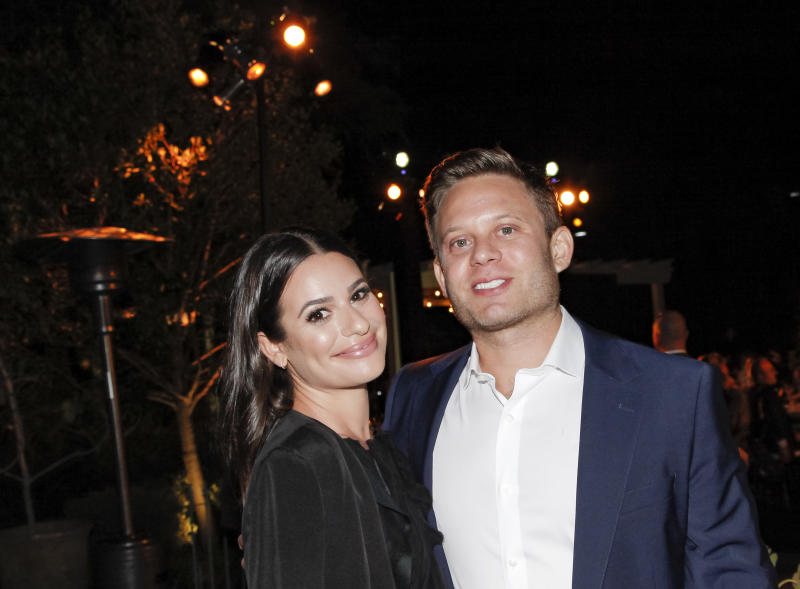 Baby joy for former Glee star Lea Michele