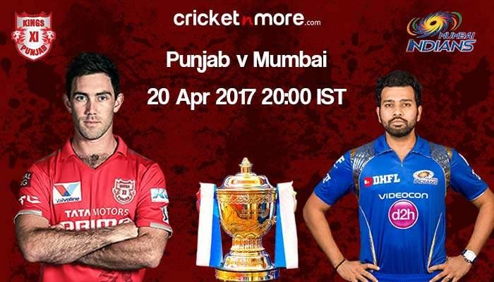 Preview: Mumbai Indians vs Kings XI Punjab