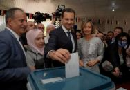 FILE PHOTO: Syria holds presidential elections