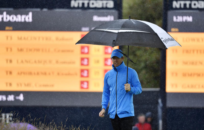 Rory McIlroy's return to Royal Portrush an opening-round disaster