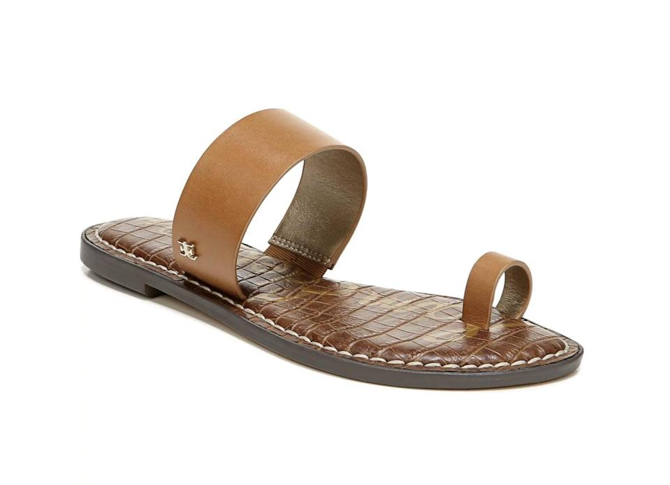 <p>You'll pair these <span>Sam Edelman Gorgene Slide Sandals</span> ($36, originally $60) with your denim cutoffs, maxi dresses, and basically everything.</p>