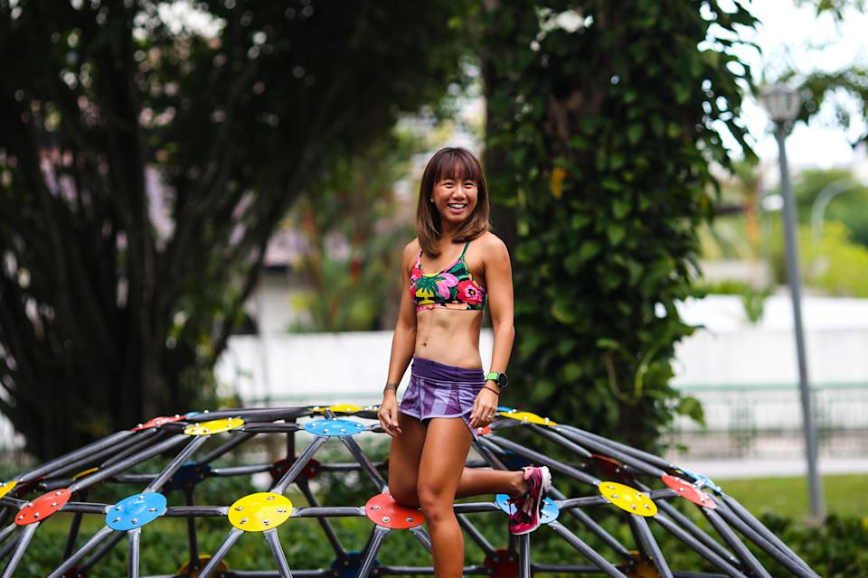 Tammi Lim started taking part in triathlons in 2012, when she bought her first road bicycle. (PHOTO: Cheryl Tay)