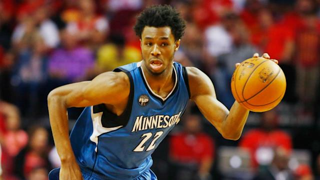 "<a class=""link rapid-noclick-resp"" href=""/nba/players/5292/"" data-ylk=""slk:Andrew Wiggins"">Andrew Wiggins</a> averaged 23.6 points last season. (AP)"