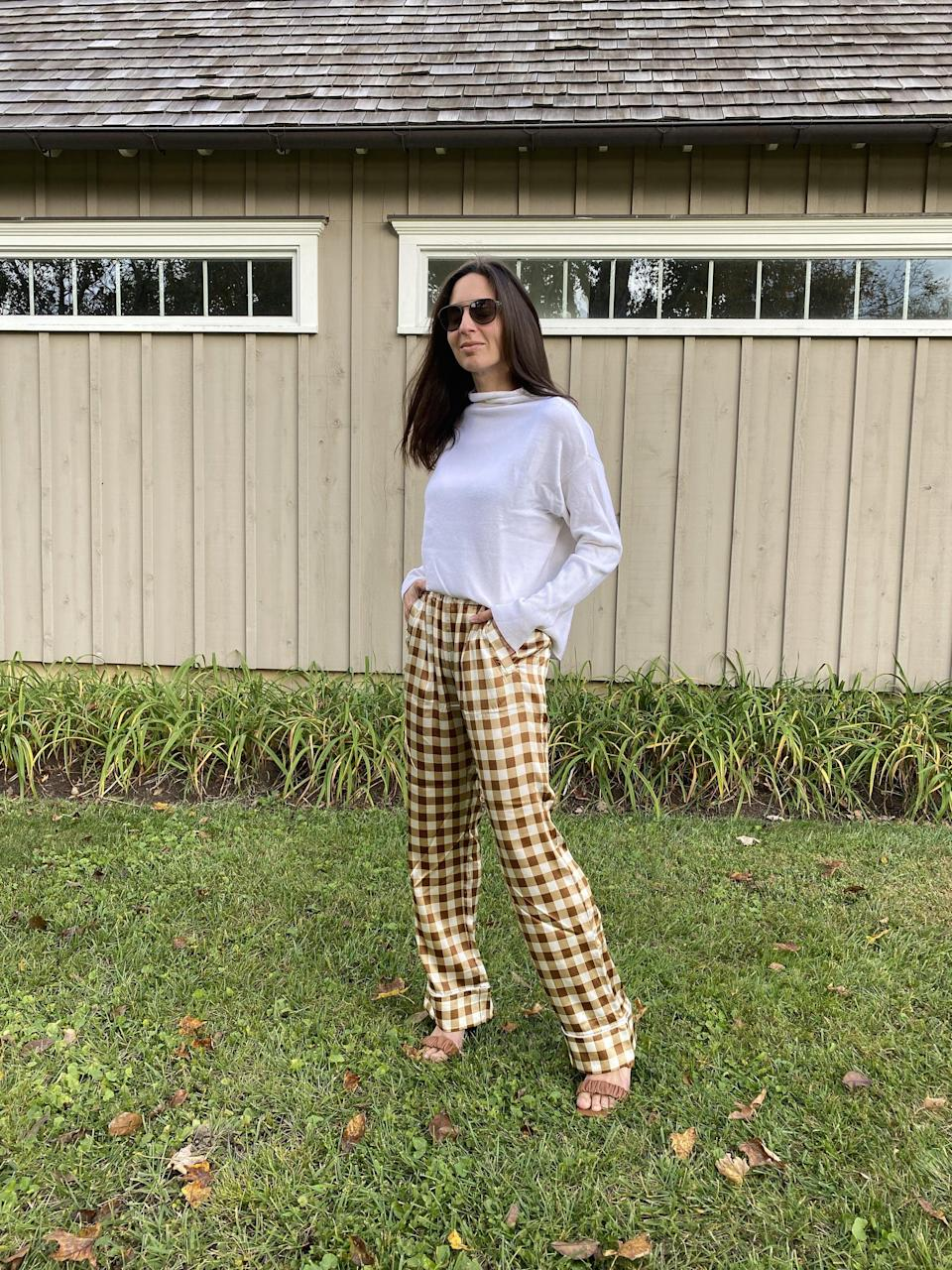 "<p>""I am looking for subtle prints that will help elevate neutrals I already own, like checks and plaids. Everything has to have an uncomplicated fit and be something that I can wear often. I am being much more thoughtful about my purchases and I don't want them to be limited to a single season's wardrobe.""</p>"