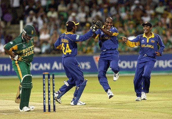 Match 40 between SL v SA ended in a tie