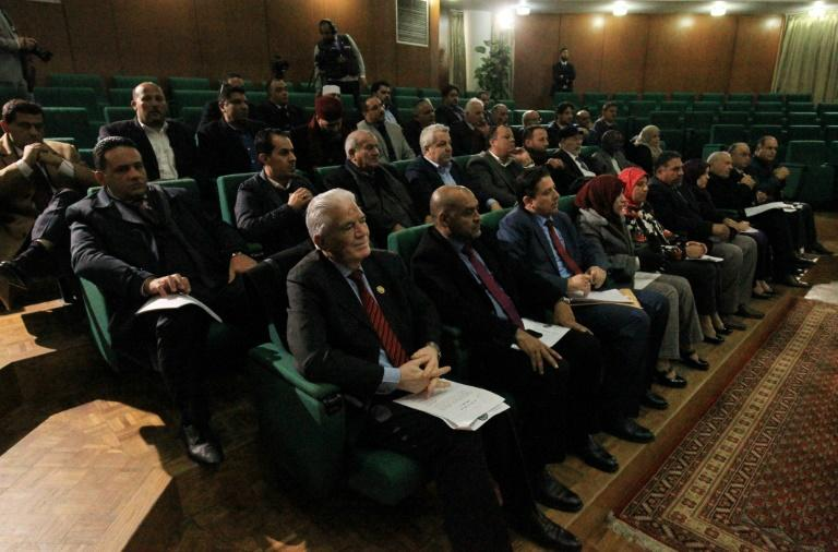 The Libyan parliament holds an emergency session in the eastern city of Benghazi