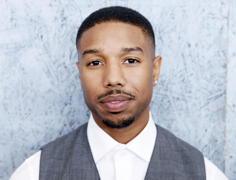 Actor Michael B. Jordan poses for photographs the at the 66th international film festival, in Cannes, southern France, Thursday, May 16, 2013. (Photo by Todd Williamson/Invision/AP)