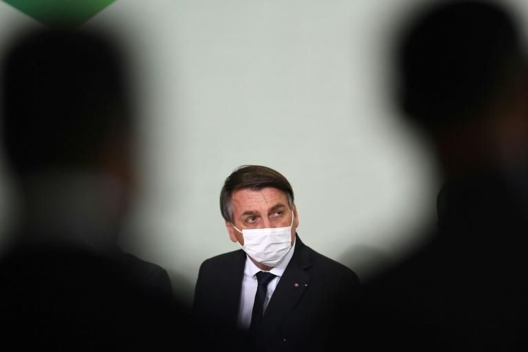 "Brazilian President Jair Bolsonaro, pictured in August 2020, said he was ""proud"" to end the so-called Operation Car Wash probe"