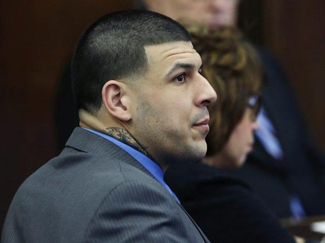 Aaron Hernandez was found dead in his prison cell on Wednesday morning. (AP)
