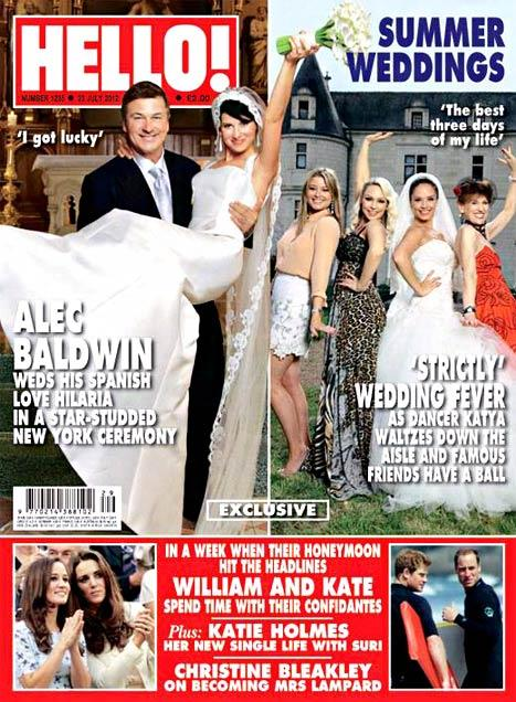 PIC: See Alec Baldwin's Wife, Hilaria, in Her Wedding Gown!