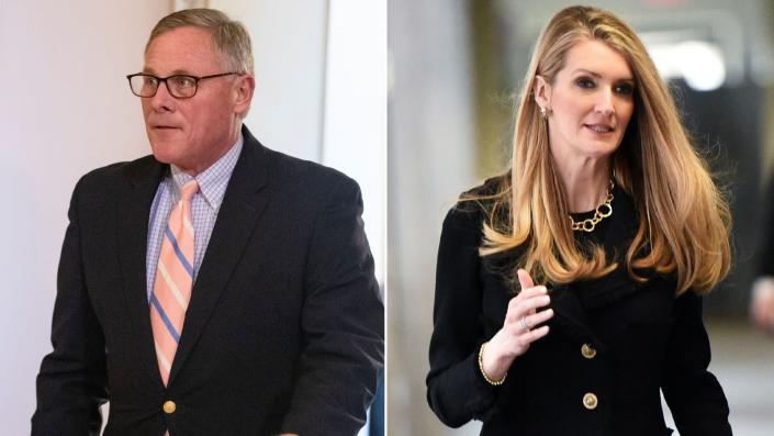 Sen. Richard Burr (R-N.C.) andSen. Kelly Loeffler (R-Ga.) reportedlysold hundreds of thousands in stock shortly after Congress began receiving regular briefings about the outbreak of coronavirus. (Photo: Getty Images)