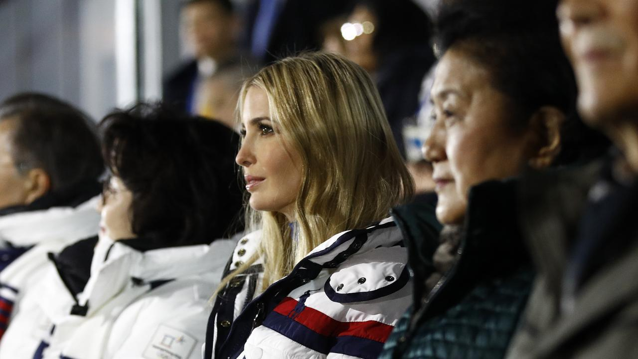 Ivanka Trump led the U.S. delegation at the 2018 Winter Olympics closing ceremony in Pyeongchang, South Korea, on Sunday amid a three-day visit to the country — but not everyone was pleased by her appearance
