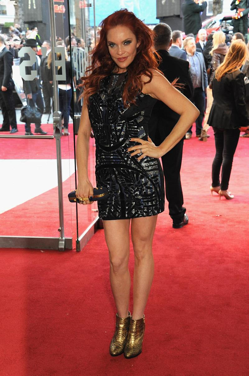 Founding member: Carmit Bachar was an original Pussycat Doll (Getty Images )