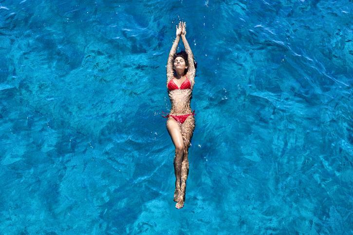 <p>The bikini gets its name from the hydrogen bomb testing that was conducted in the Bikini Atoll in the South Pacific </p>