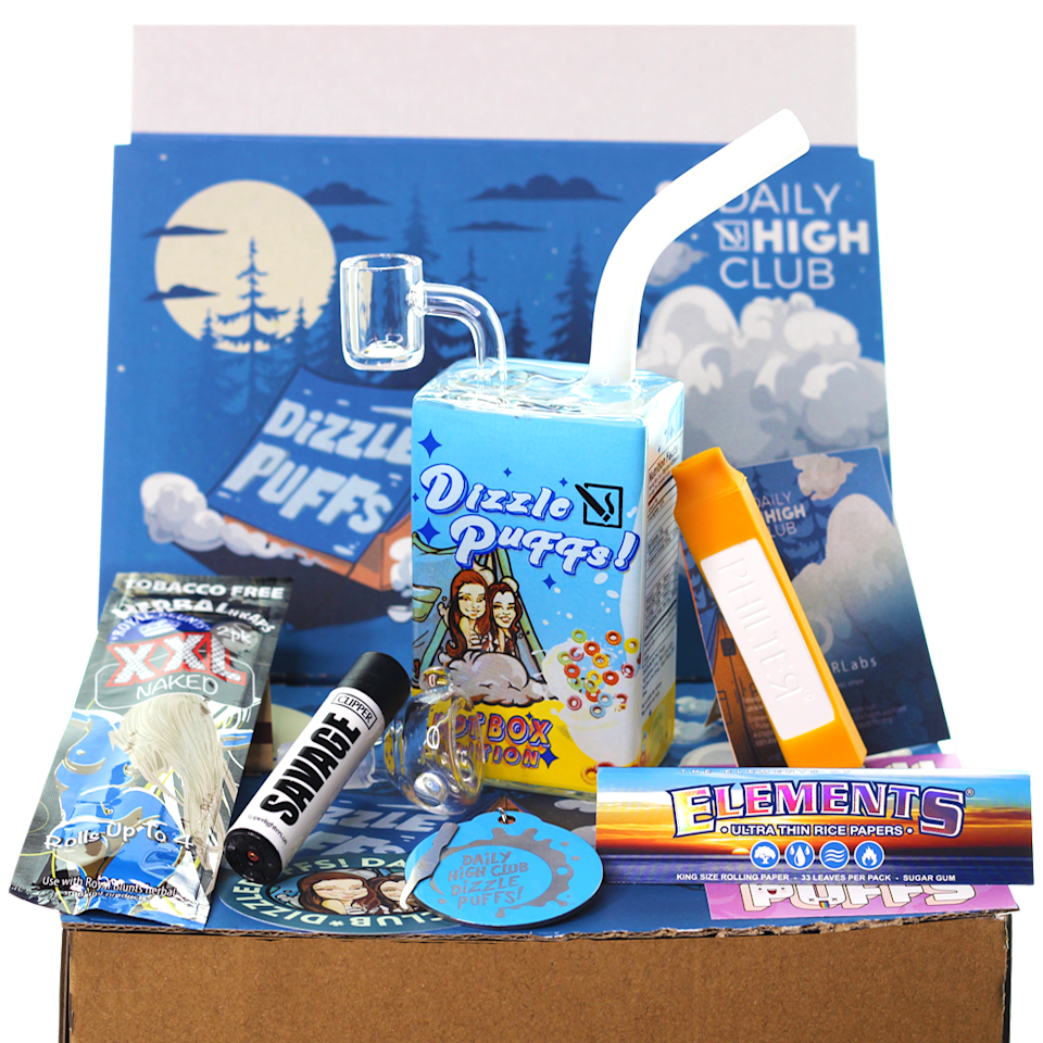 """<h3><h2>The Daily High Club</h2></h3><br><strong>Smoking Accessories Subscription</strong><br>Whether you're gifting this one to your dad-dad or your partner who is a dad (no judgement, man), this online headshop offers everything but the actual stuff they smoke. Think: monthly shipments of themed accessories from premium rolling papers to novelty shaped bowls and lighters. <br><br><em>Shop<strong> <a href=""""https://dailyhighclub.com/"""" rel=""""nofollow noopener"""" target=""""_blank"""" data-ylk=""""slk:The Daily High Club"""" class=""""link rapid-noclick-resp"""">The Daily High Club</a></strong></em><br><br><strong>The Daily High Club</strong> El Primo, June Subscription Box, $, available at <a href=""""https://go.skimresources.com/?id=30283X879131&url=https%3A%2F%2Fdailyhighclub.com%2Fproducts%2Fel-primo"""" rel=""""nofollow noopener"""" target=""""_blank"""" data-ylk=""""slk:The Daily High Club"""" class=""""link rapid-noclick-resp"""">The Daily High Club</a>"""