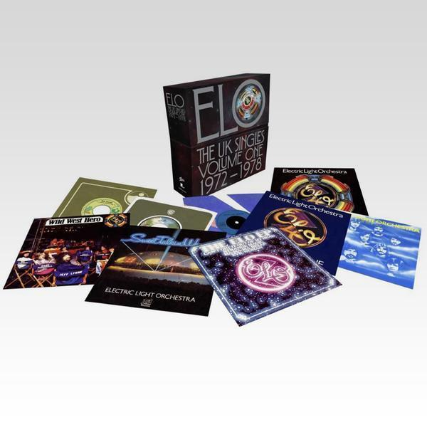 """<p>Here's some more vinyl-only goodness: A box of 7-inch vinyl singles that brings together 15 of the Electric Light Orchestra's most beloved hits, including """"Turn to Stone,"""" """"Evil Woman,"""" """"Livin' Thing,"""" Telephone Line,"""" """"Strange Magic,"""" """"Sweet Talkin' Woman"""" and """"Mr. Blue Sky."""" </p>"""