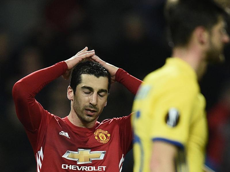 Henrikh Mkhitaryan went close in the opening stages (Getty)