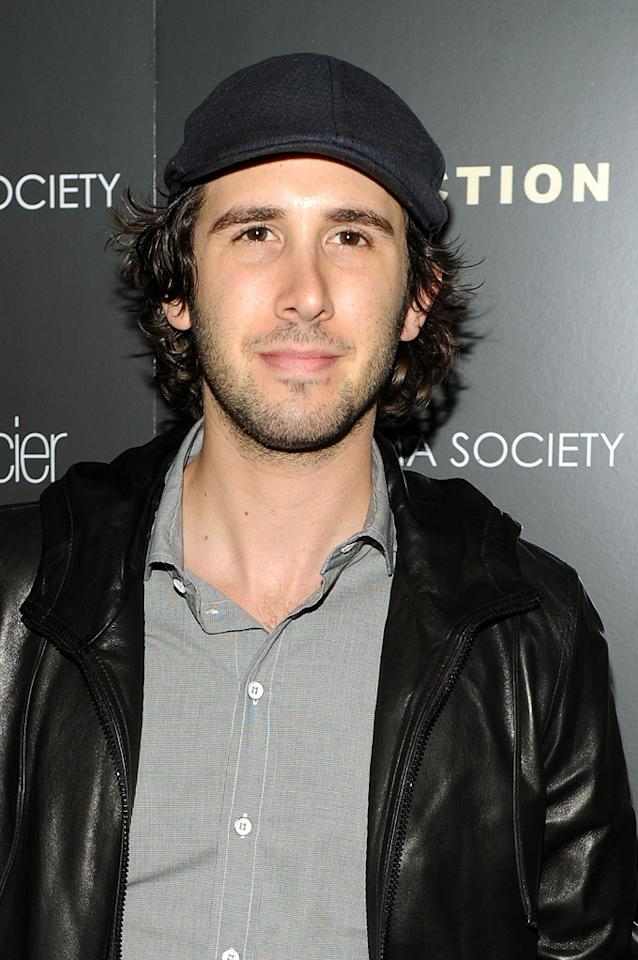 "Josh Grobin at the New York Cinema Society screening of <a href=""http://movies.yahoo.com/movie/1810071450/info"">Conviction</a> on October 12, 2010."