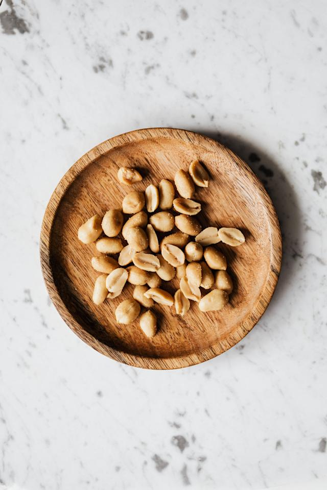 "<p>Peanuts are <a href=""https://fdc.nal.usda.gov/fdc-app.html#/food-details/784392/nutrients"" target=""_blank"" class=""ga-track"" data-ga-category=""internal click"" data-ga-label=""https://fdc.nal.usda.gov/fdc-app.html#/food-details/784392/nutrients"" data-ga-action=""body text link"">a natural source of zinc</a> and are tasty, affordable, and easy to eat <a href=""https://www.nationalpeanutboard.org/wellness/what-is-benefit-eating-peanuts-every-day.htm"" target=""_blank"" class=""ga-track"" data-ga-category=""internal click"" data-ga-label=""https://www.nationalpeanutboard.org/wellness/what-is-benefit-eating-peanuts-every-day.htm"" data-ga-action=""body text link"">every day</a>, whether you're sprinkling them onto a salad, spreading peanut butter on some apples or bread, or simply enjoying them on their own. They're an especially important source of zinc for those following a plant-forward lifestyle.</p>"