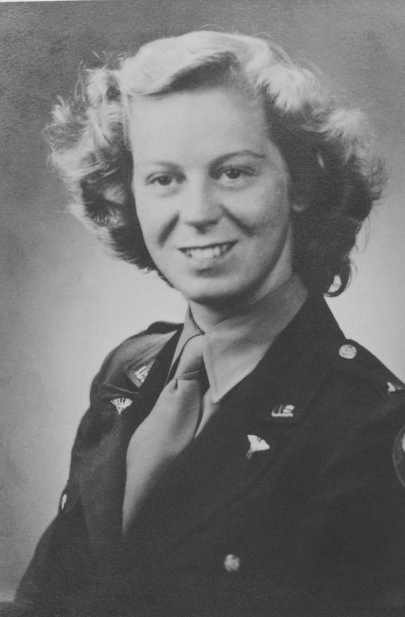 Lt. Kate Flynn Nolan served as a nurse in Europe during World War II.