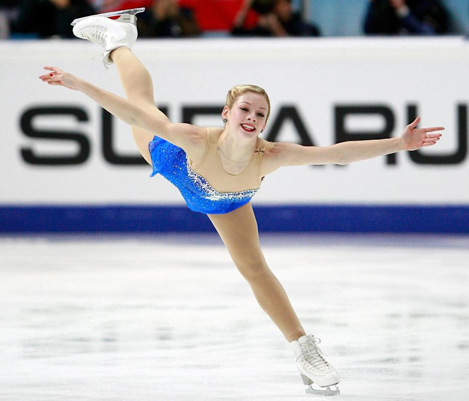 Gracie Gold will compete for the first time in nearly two years next month with the Olympics on her mind.