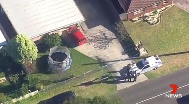 Homicide squad detectives attended an address at suburban Tootgarook on Thursday. Photo: 7 News