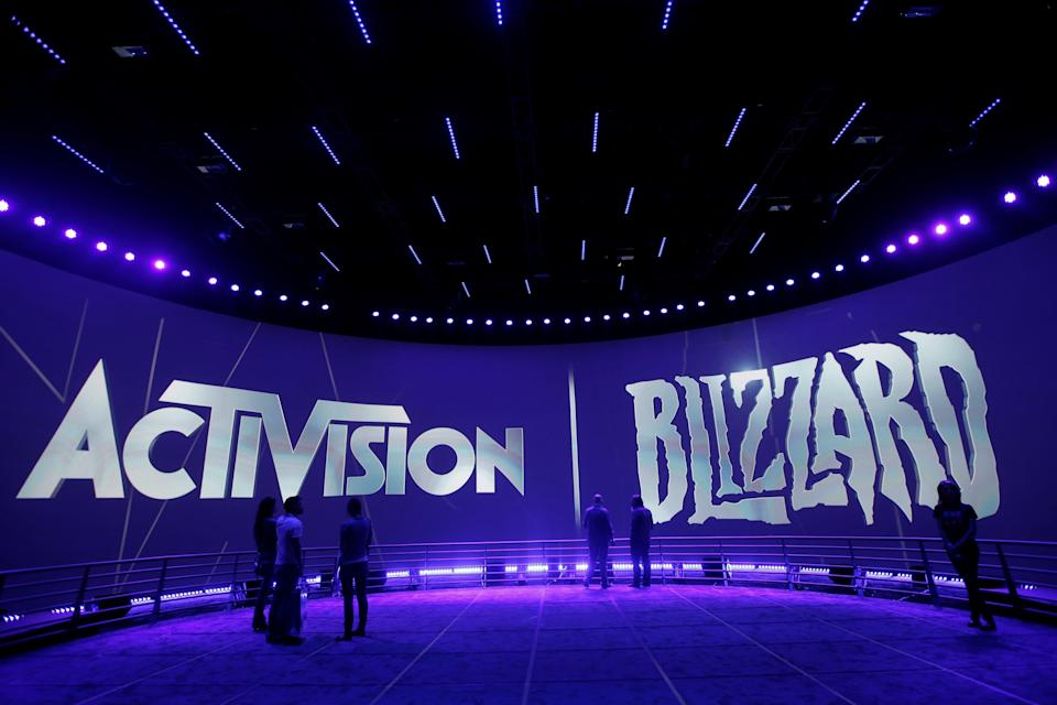 Activision Work Environment (Copyright 2019 The Associated Press. All rights reserved.)