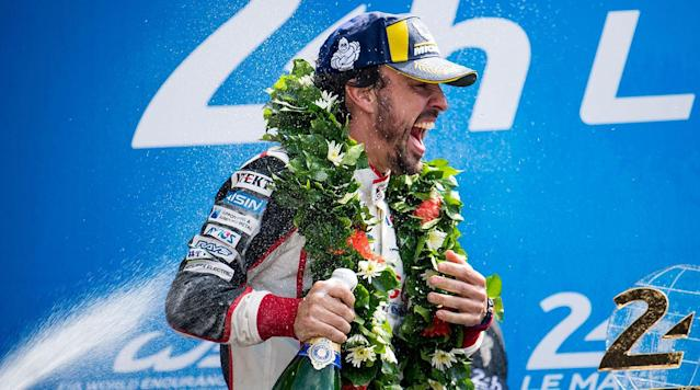 LE MANS, France (AP) — Two-time Formula One champion Fernando Alonso won the 24 Hours Le Mans on his debut in the classic endurance race on Sunday to move closer to motorsport's unofficial Triple Crown.