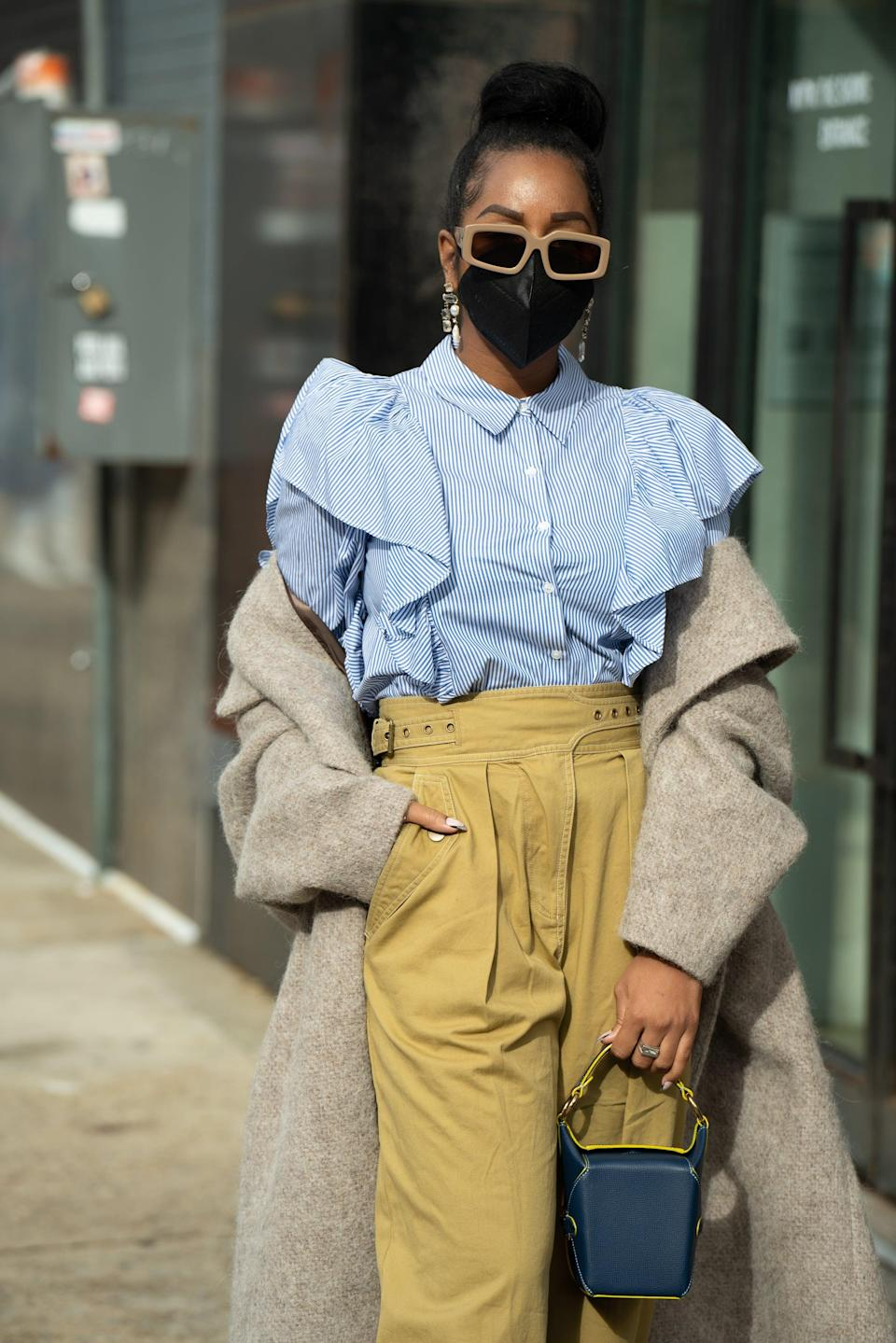 <p>Spring is just around the corner, and it's time to start layering in some lighter feminine pieces with your winter staples.</p>