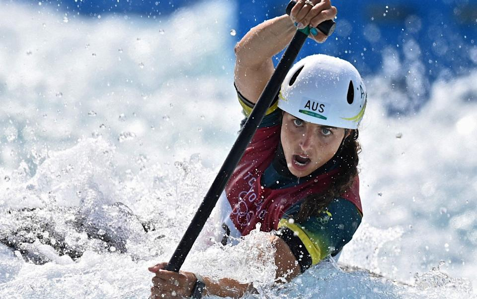 Jessica Fox - Team GB canoeist Mallory Franklin completes 'rite of passage' with silver before world No 1 Jessica Fox lands slalom gold - GETTY IMAGES