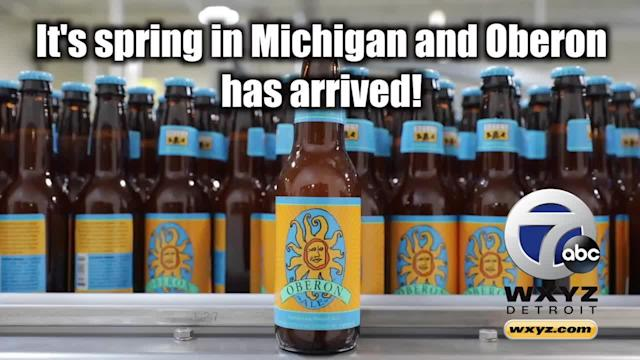 Spring has arrived in Michigan and that means Bell's Oberon will be back on tap and on store shelves very soon. Oberon release day is happening on Monday, March 26 across the state, with many bars tapping the kegs at midnight Sunday night/Monday morning. The release coincides with baseball season. There will be several midnight tappings across the metro area, including Ashley's in Ann Arbor, The Rock on Third in Royal Oak and more.
