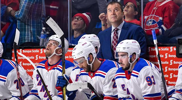 Alain Vigneault is not the problem in New York. (Minas Panagiotakis/Getty Images)