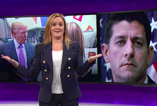 Samantha Bee has her own 'Vagina Monologues' moment over lewd Trump tape
