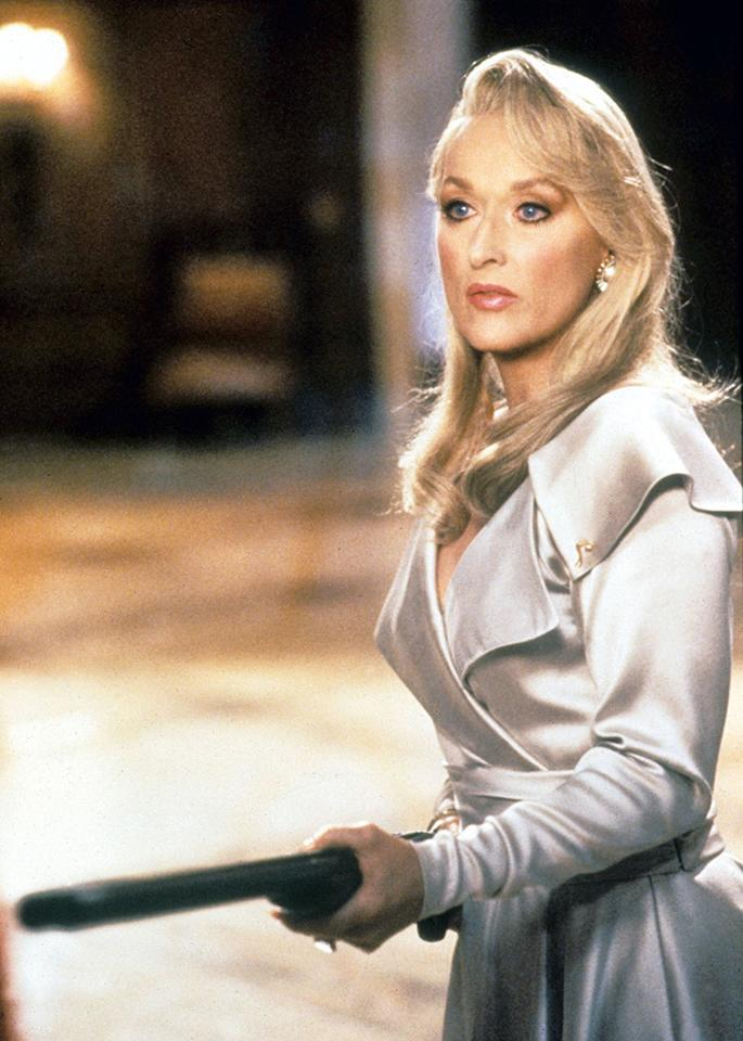 "Meryl Streep's nude body double in ""Death Becomes Her"" went on to find fame."
