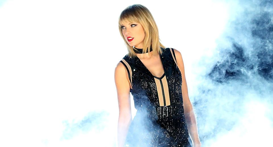 Taylor Swift is back with a new album — and a controversial shirt. (Photo: Getty Images)