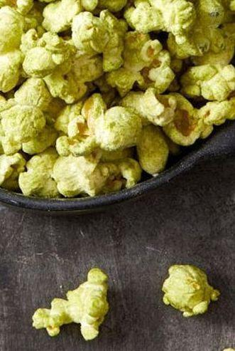 "<p>A shamrock-colored twist on everyone's favorite salty snack, this matcha covered popcorn won't take you more than five minutes.</p><p><em><a href=""https://www.goodhousekeeping.com/food-recipes/a28542905/green-matcha-popcorn-recipe/"" rel=""nofollow noopener"" target=""_blank"" data-ylk=""slk:Get the recipe for Green Matcha Popcorn»"" class=""link rapid-noclick-resp"">Get the recipe for Green Matcha Popcorn»</a></em></p>"