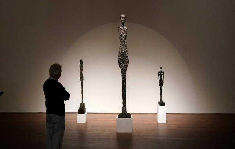 Alberto Giacometti's 'Grande femme I' is being sold by Sotheby's by a secretive sealed bid auction, with a minimum price of $90 million