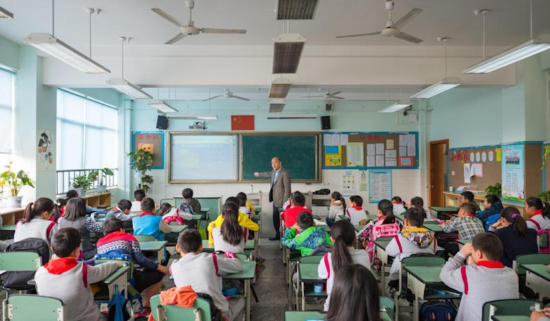 Low pay and politics means Hong Kong teachers have little incentive to work in mainland China, groups say