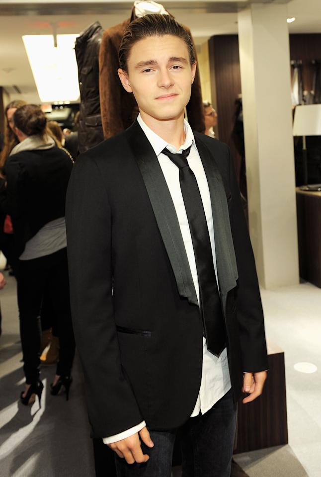 BEVERLY HILLS, CA - NOVEMBER 03:  Actor Callan McAuliffe attends the Ermenegildo Zegna and Vanity Fair Event to Benefit the Art of Elysium's documentary film project held at Ermenegildo Zegna on November 3, 2011 in Beverly Hills, California.  (Photo by Charley Gallay/Getty Images for Ermenegildo Zegna)