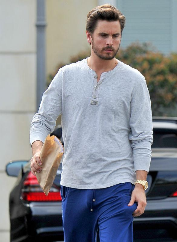 Does scott disick have a big dick