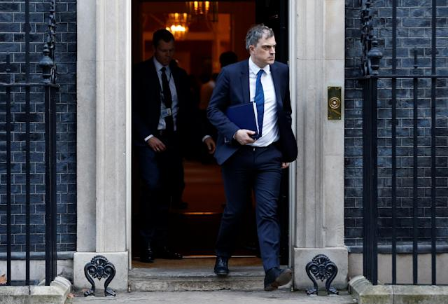 """Former Northern Ireland Secretary Julian Smith says his future plans after losing his Cabinet post are """"things like going to the pub"""". (Picture: REUTERS/Henry Nicholls)"""