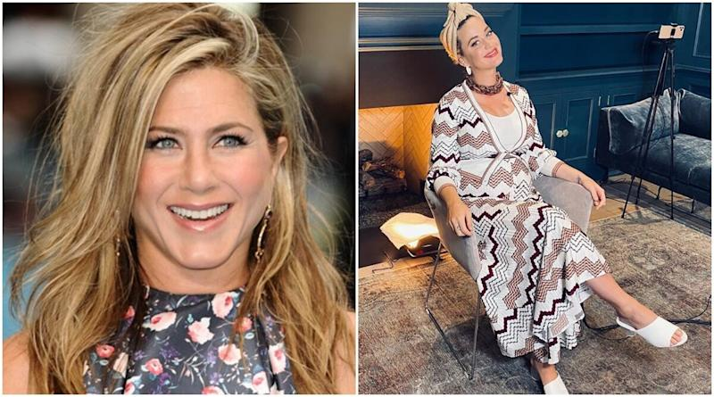 Mom-to-Be Katy Perry Wants Jennifer Aniston to be Her Baby Girl's Godmother?