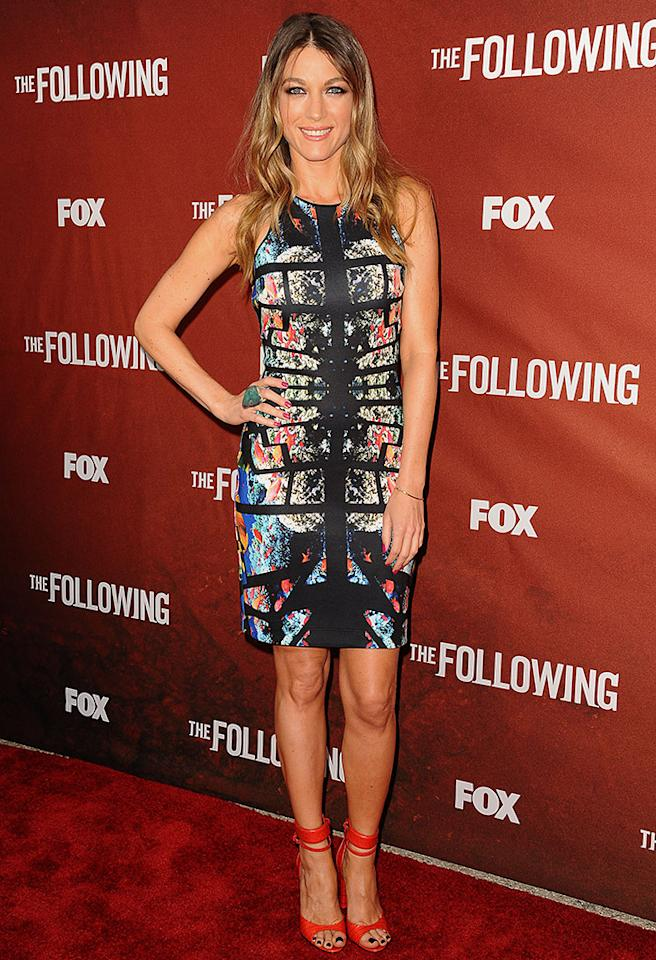 """NORTH HOLLYWOOD, CA - APRIL 29:  Actress Natalie Zea attends a screening and Q&A of """"The Following"""" at Leonard H. Goldenson Theatre on April 29, 2013 in North Hollywood, California.  (Photo by Jason LaVeris/FilmMagic)"""