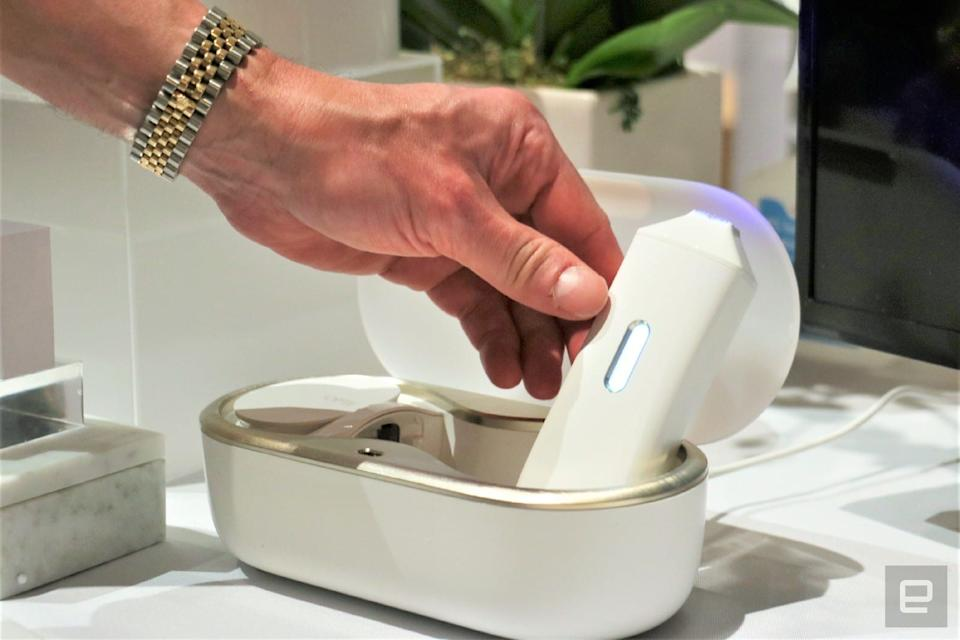 Opte Precision Skincare hands-on